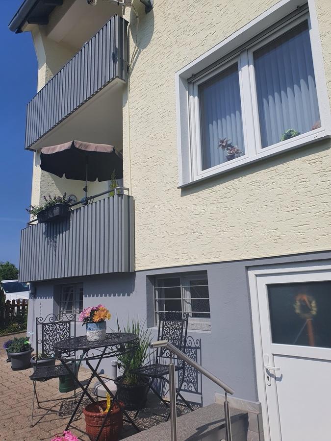 Balkone/Rückseite Haus